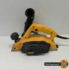 DeWalt DW680-QS Schaafmachine 600W 2,5mm in Goede Staat