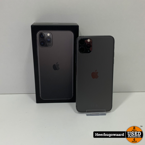 iPhone 11 Pro Max 64GB Space Gray in Nieuwstaat