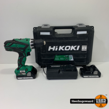 Hikoki DS18DJL 18V Schroefmachine incl. 2 Accu's en Lader