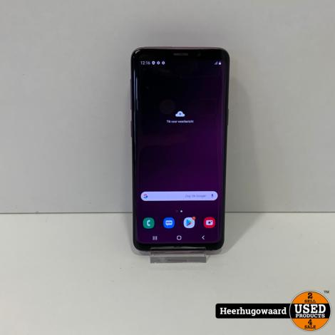 Samsung Galaxy S9 64GB Purple in Goede Staat