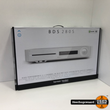 Harman Kardon BDS 280S Receiver 4K Blu-Ray BT Wit Nieuw in Doos