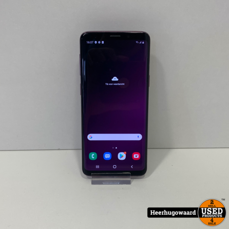 Samsung Galaxy S9 64GB Lilac Purple Dual Sim in Doos