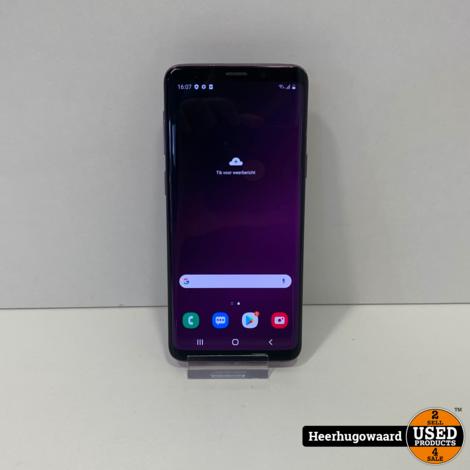 Samsung Galaxy S9 64GB Lilac Purple Dual Sim in Nette Staat