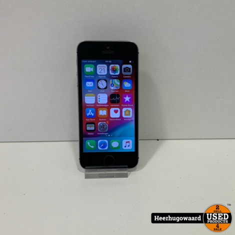 iPhone 5S 16GB Space Gray in Goede Staat