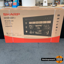 Sharp 65BL2EA 65'' 4K Ultra HD Smart TV Nieuw in Doos