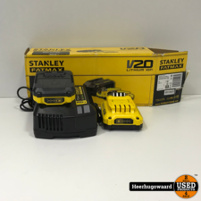 Stanley FatMax V20 SFMCB12D2 Starter Kit Compleet in Doos