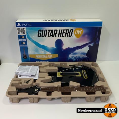 Playstation 4 Guitar Hero Live Gitaar (excl. game) in Doos