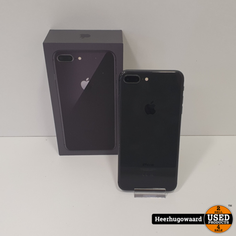 iPhone 8 Plus 64GB Space Grey in Gebruikte Staat