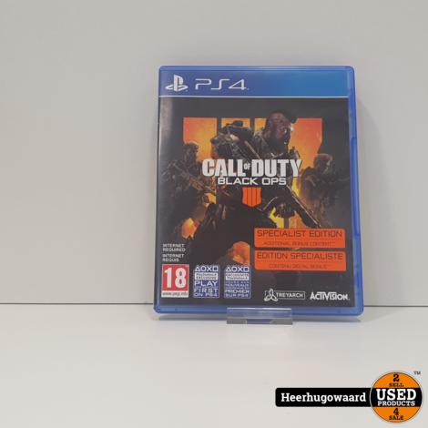 PS4 Game: Call of Duty Black Ops IIII