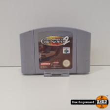 Nintendo 64 Game: Tony Hawk Pro Skater 2