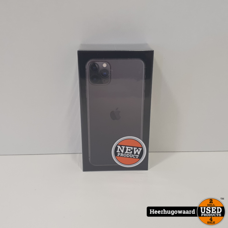 iPhone 11 Pro Max 256GB Space Gray Nieuw in Seal