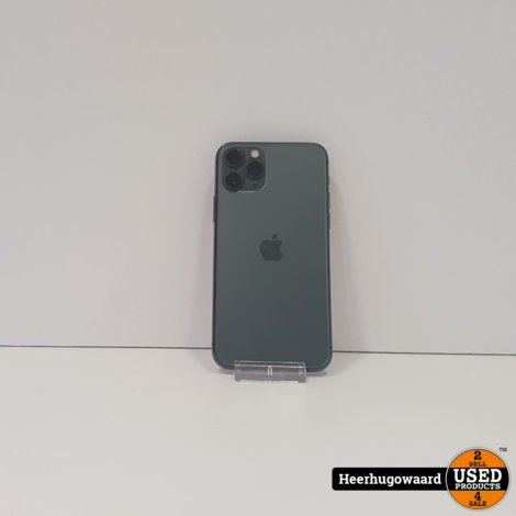 iPhone 11 Pro 64GB Midnight Green in Goede Staat - Accu 91%