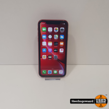 iPhone XR 64GB Red in Nette Staat - Accu 92%