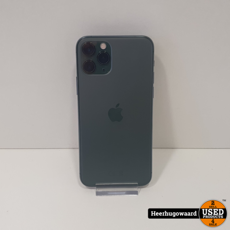 iPhone 11 Pro 64GB Space Grey in Goede Staat - Accu 96%