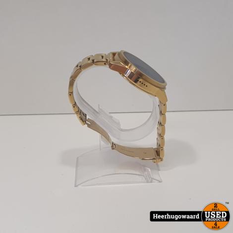 Michael Kors Access Grayson MKT5026 Smartwatch Goud Compleet in Doos