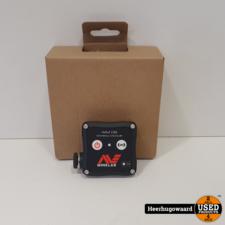 Minelab WM 08 Draadloze Audio Module t.b.v. EQUINOX-serie Nieuw