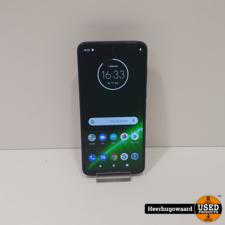 Motorola G7 Plus 64GB Blauw (Camera glas kapot, camera werkt wel)