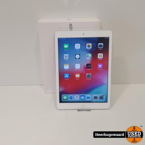 iPad Air 1 16GB Wifi Silver in Doos in Nette Staat
