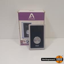 Apogee Duet Audio en MIDI Interface (Mac, iOS) in Goede Staat