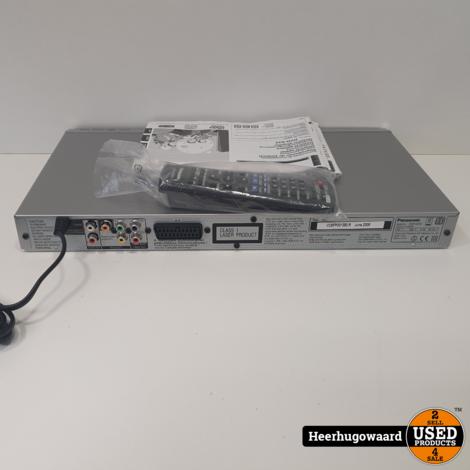 Panasonic DVD-S33 DVD-Speler in Goede Staat incl. AB