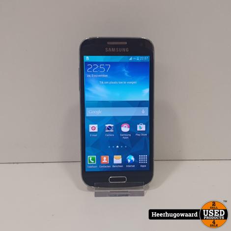 Samsung Galaxy S4 Mini 8GB Blauw in Goede Staat