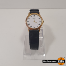 Raymond Weil 5569 Geneve Gold Plated 34mm Quartz Horloge in Goede Staat
