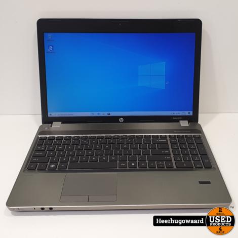 HP Probook 4530S 15,6'' Laptop - i3-2330M 6GB 500GB HDD