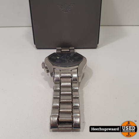 Armani Valente AR1635 43mm Horloge in Doos in Goede Staat