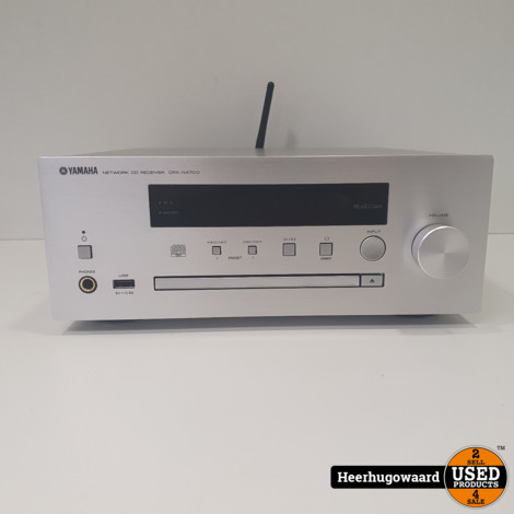 Yamaha CRX-N470D Pianocraft Stereo Set DAB Airplay Compleet in Nieuwstaat