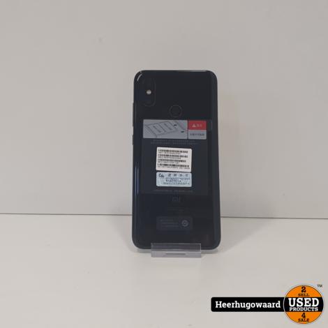 Xiaomi Mi 8 128GB Zwart in Nieuwstaat