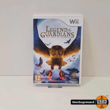 Wii Game: Legends of the Guardians The Owls Of Ga'Hoole