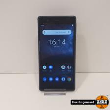 Nokia 3 16GB Dual Sim Zwart in Zeer Nette Staat