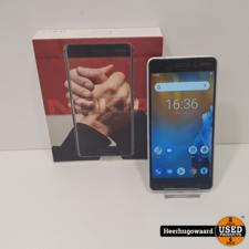Nokia 6 32GB Zilver in Doos in Zeer Nette Staat