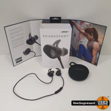 Bose Soundsport Wireless Zwart ZGAN Compleet in Doos