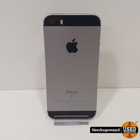 iPhone SE 16GB Space Gray in Goede Staat