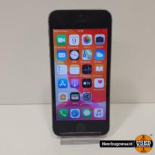 iPhone SE 16GB Space Gray in Redelijke Staat
