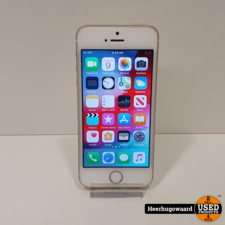 iPhone SE 32GB Gold in Goede Staat