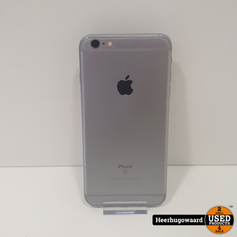 iPhone 6S Plus 16GB Silver - Touch ID Defect - Nieuwe Accu