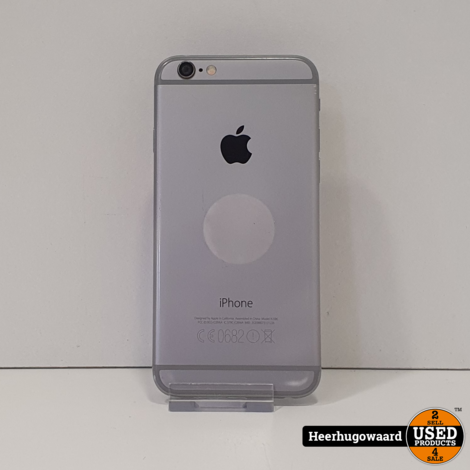 iPhone 6 16GB Space Grey in Nette Staat