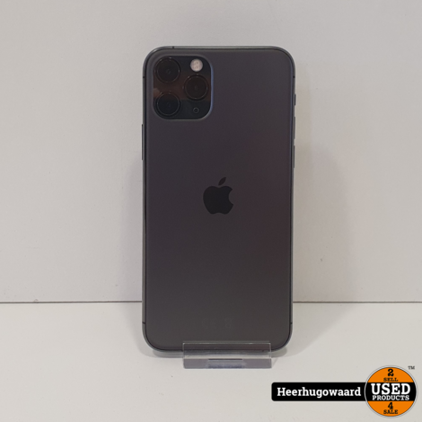 iPhone 11 Pro 64GB Space Gray in Zeer Nette Staat - Accu 100%