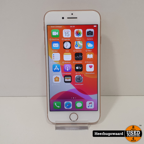 iPhone 8 64GB Gold in Zeer Nette Staat - Accu 88%