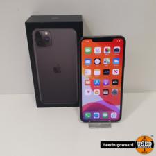 iPhone 11 Pro Max 256GB Space Gray ZGAN - 11mnd Apple Garantie