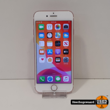 Apple iPhone 7 32GB Rose Gold in Goede Staat - Accu 100%