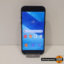 Samsung Galaxy A5 2017 32GB Black in Goede Staat