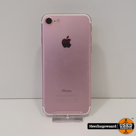 iPhone 7 32GB Rose Gold in Goede Staat - Accu 100%