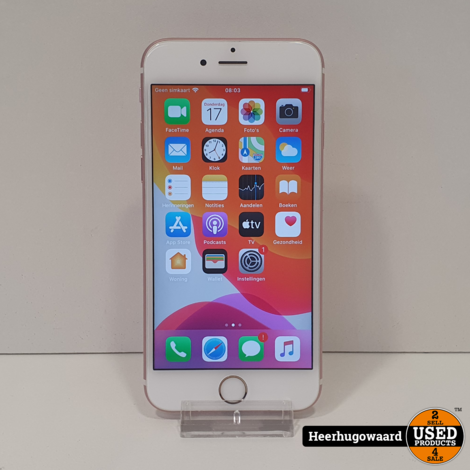 iPhone 6S 16GB Rose Gold in Goede Staat Accu: 96%