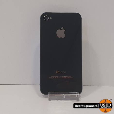 iPhone 4S 32GB Zwart in Goede Staat