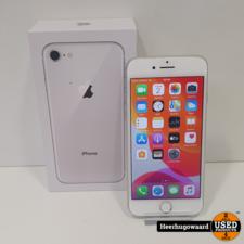 iPhone 8 64GB Silver Compleet in Zeer Nette Staat - Accu 94%