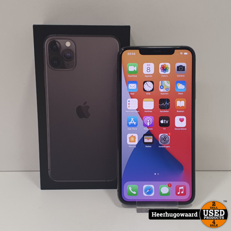 iPhone 11 Pro Max 256GB Space Gray - Accu 100% - Apple Garantie
