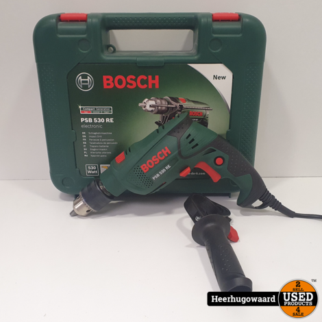 Bosch PSB 530 RE Klopboormachine in Nette Staat